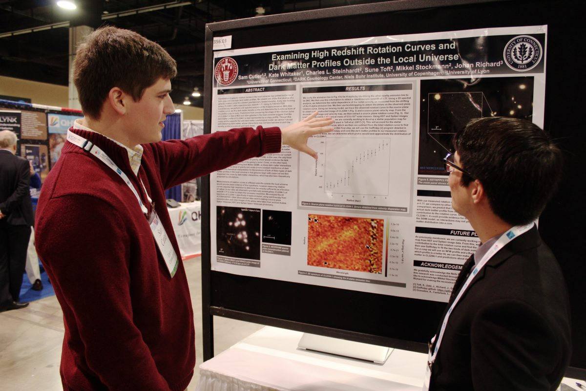 Sam Cutler, UConn, Undergraduate Research, DAWN